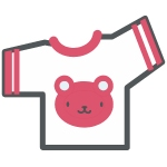 Tシャツクマ